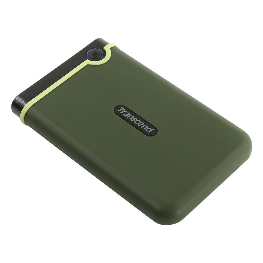 Ổ Cứng Di Động Transcend M3G 2TB Slim USB 3.0/3.1 - Hàng Chính Hãng