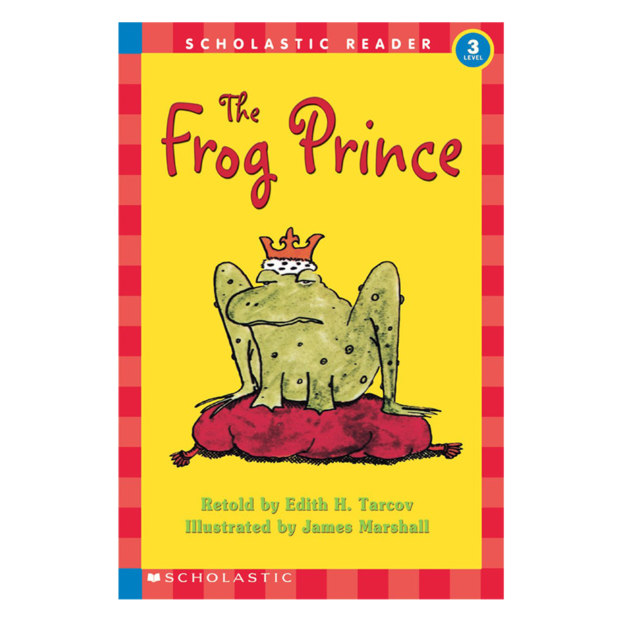 Scholastic Reader Level 3: The Frog Prince (Retold by Edith H. Tarcov , Illustrated by James Marshall)