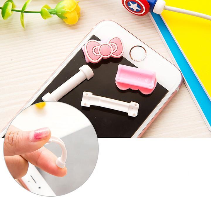 Dụng cụ kẹp bảo vệ chống đứt gãy dây cáp sạc điện thoại - 2 phân loại hàng