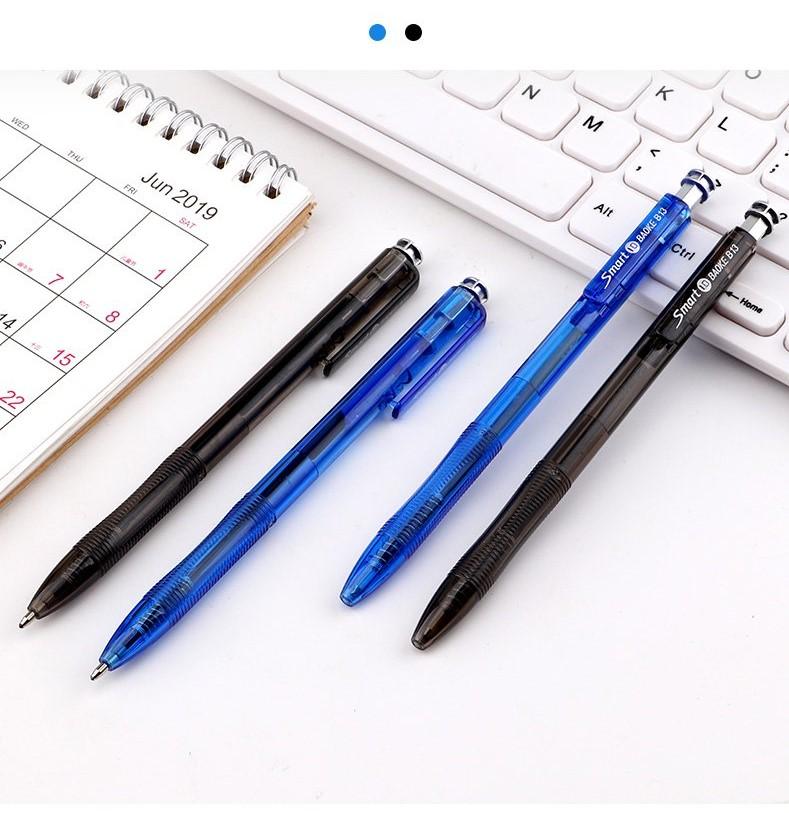 Combo 10 cây bút bi Baoke B13 màu xanh