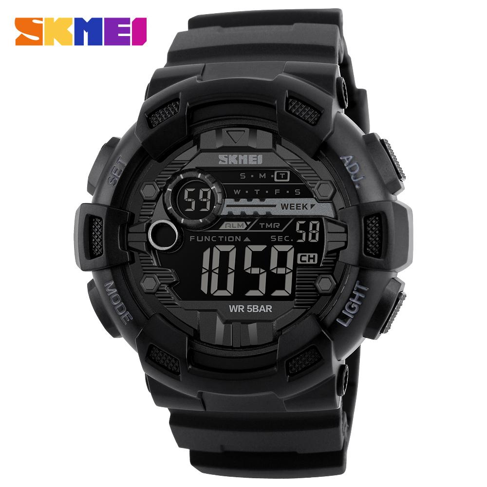 Đồng hồ đeo tay Skmei - 1243BK-Hàng Chính Hãng