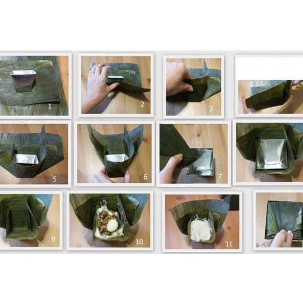 Bộ 2 Khuôn Làm Bánh Giò Inox Cỡ Lớn Dragon Hàng VNCLC