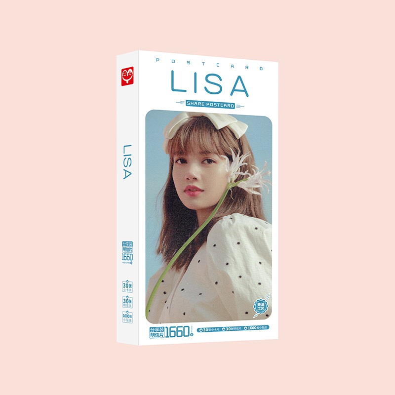 Poscard Lisa Blackpink