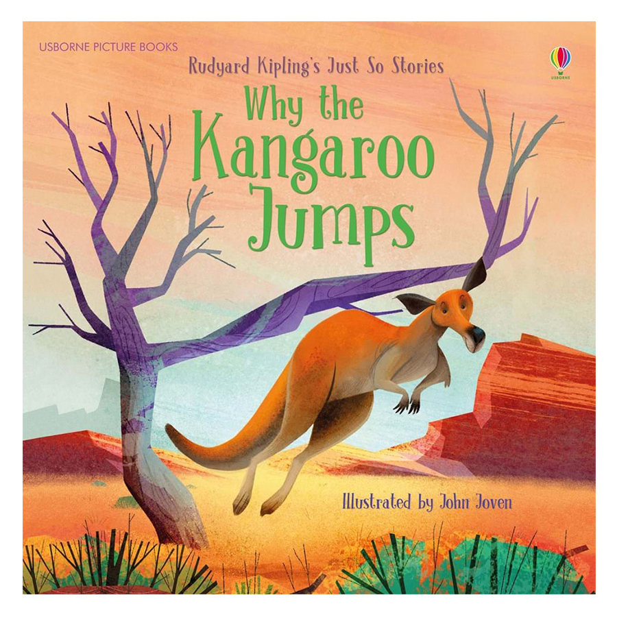Usborne Why The Kangaroo Jumps