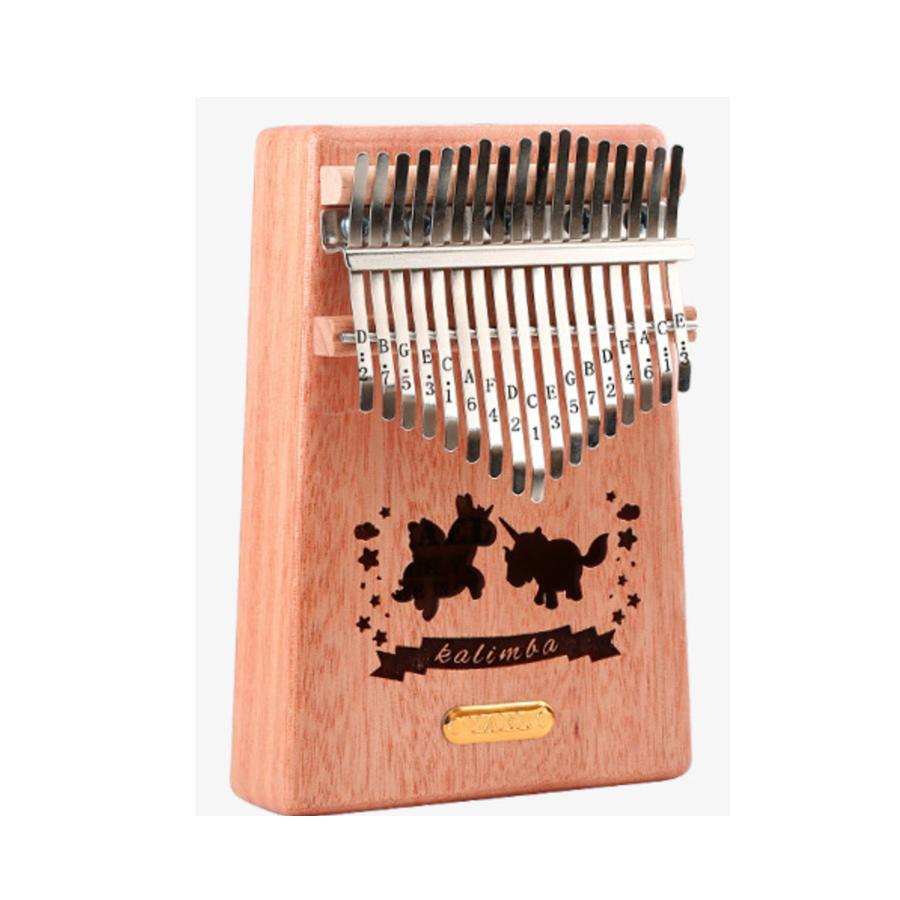 Đàn Kalimba cao cấp 17 phím, Thumb Piano 17 keys - Gỗ kỳ lân