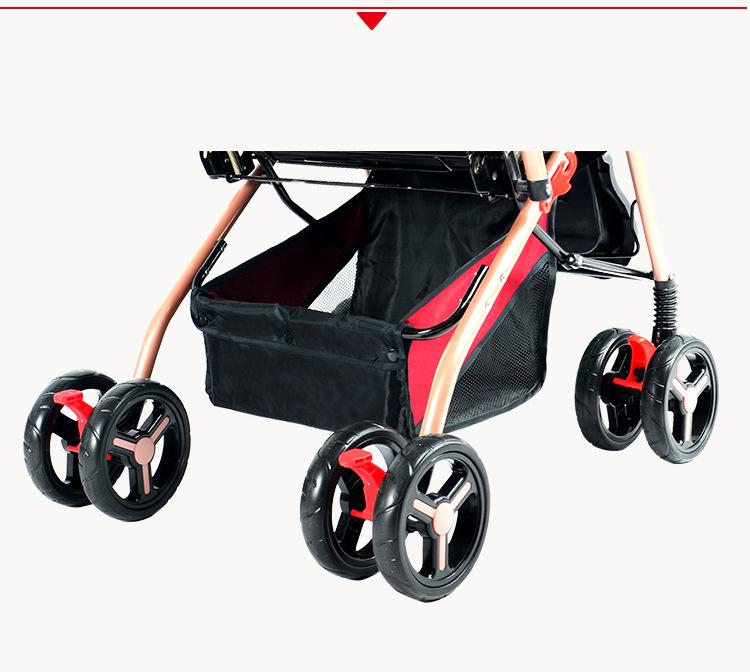 Xe đẩy em bé 2 chiều 3 tư thế HAOWEI