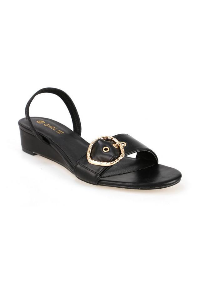 Giày sandals đế xuồng thấp GIRLIE S40001