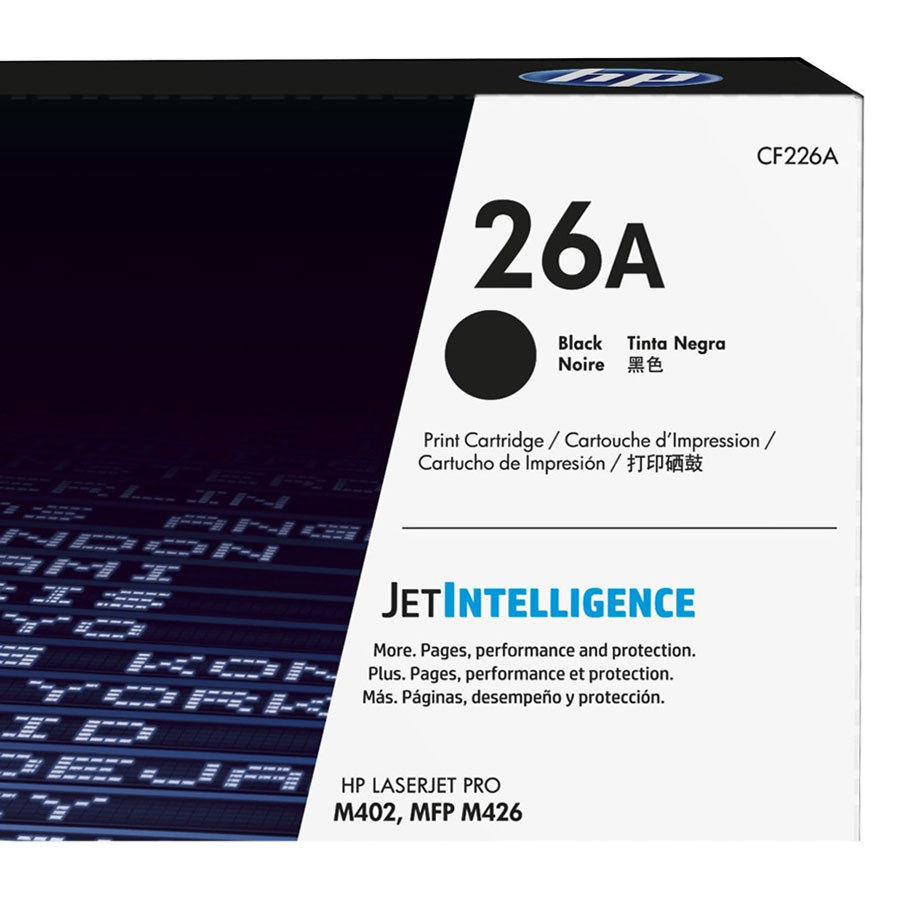 Mực In HP CF226A (HP 26A) Cho Máy In HP M402dn, HPM402dne, HP  M426fdn, HP  M402dw, HP M426fdw, HP  M402n - Hàng chính hãng