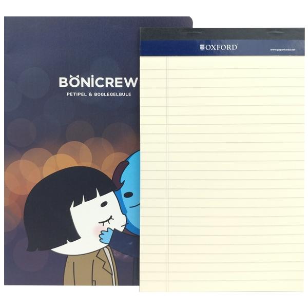 Sổ Bonicrew Oxford A5 BN1A5 - Mẫu 2