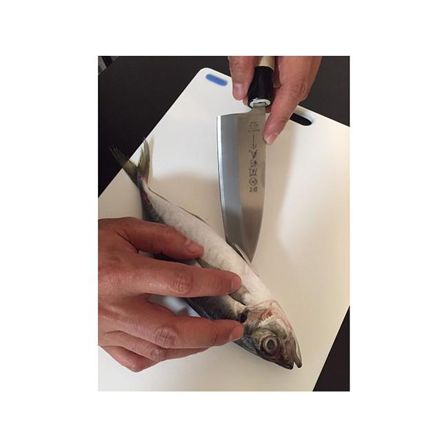 Dao Inox Làm Bếp Tsubazo-Deba NIKKEN 28cm