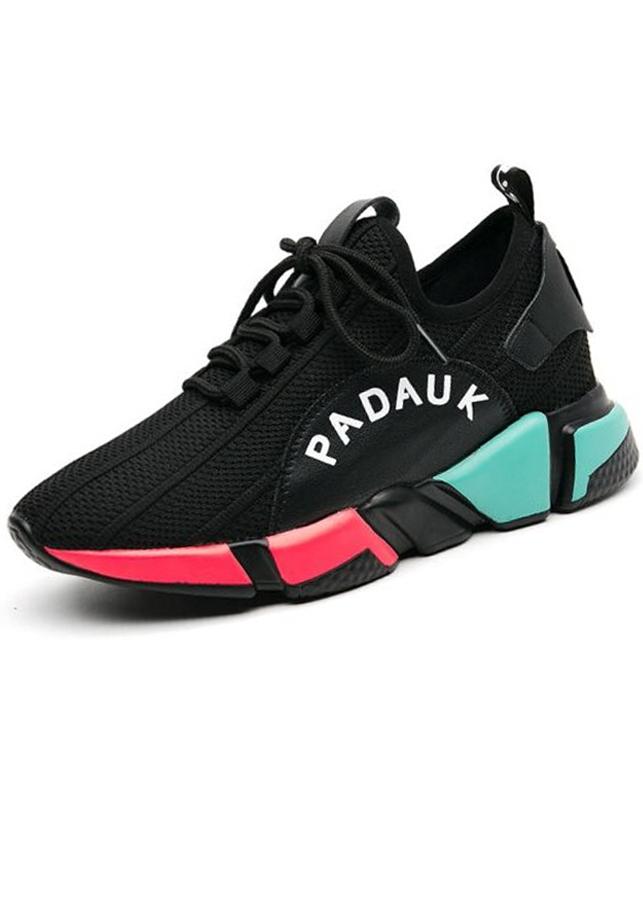 Giày sneaker nữ phối màu độc đáo, nổi bật chân xinh 0516