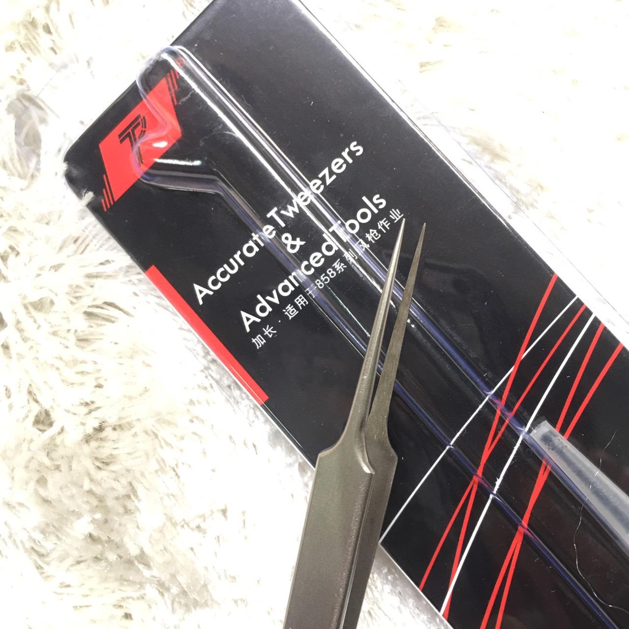 Combo 2 nhíp đầu dài (1 cong và 1 thẳng)