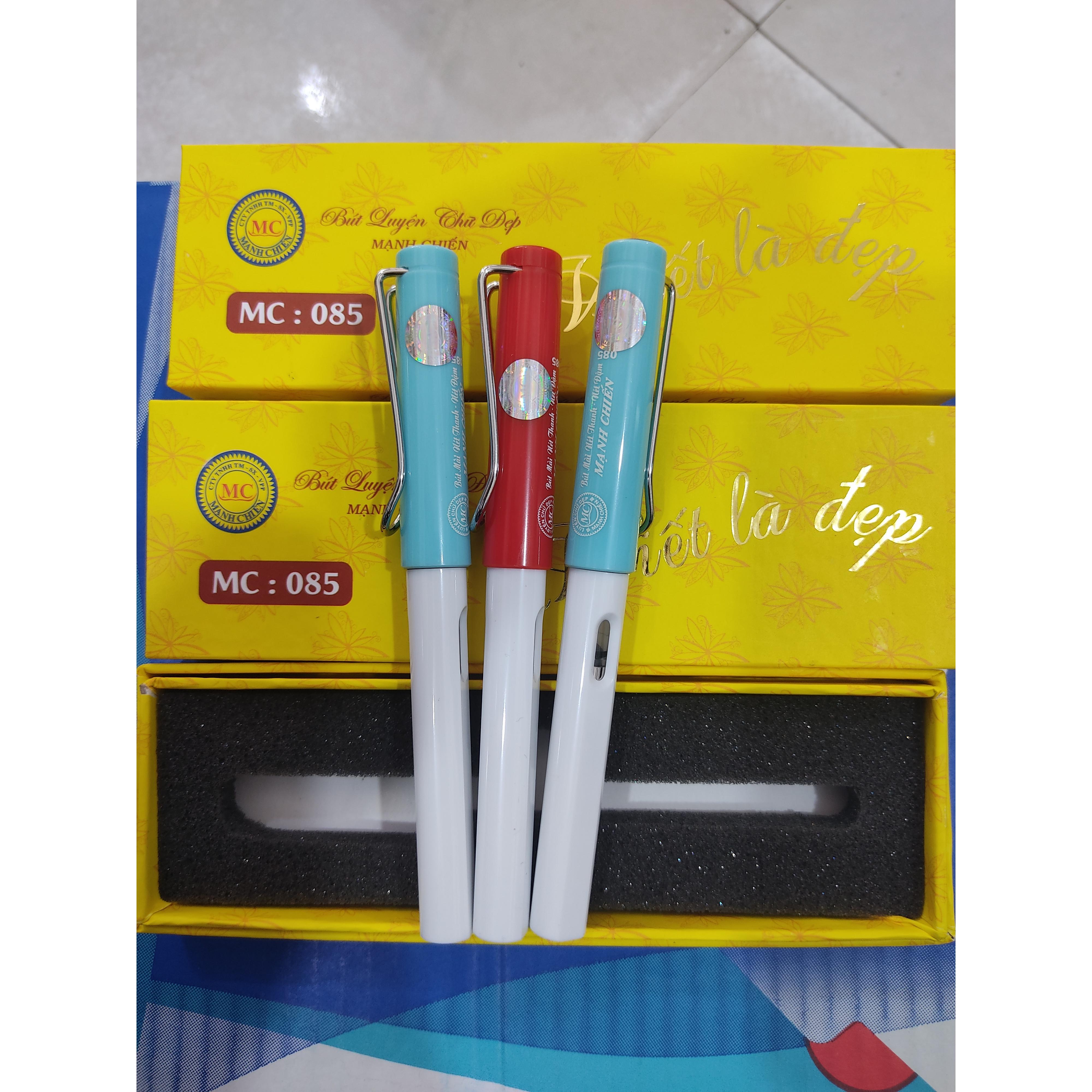 Bút máy ngòi kim tinh lá tre ( giao mầu ngẫu nhiên)