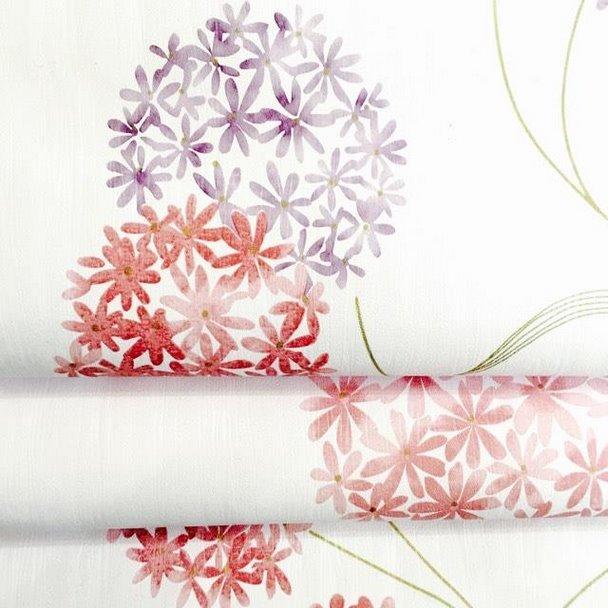 5m giấy decal tú cầu sắc màu DTL26(60x500cm)