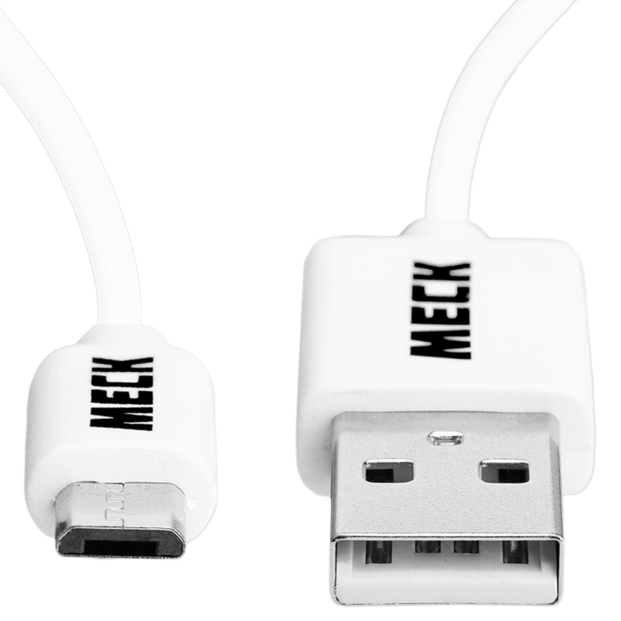 Dây Cáp Sạc Micro USB 2-Amps MECK (1m): Micro-B 2A Data & Charge Cable