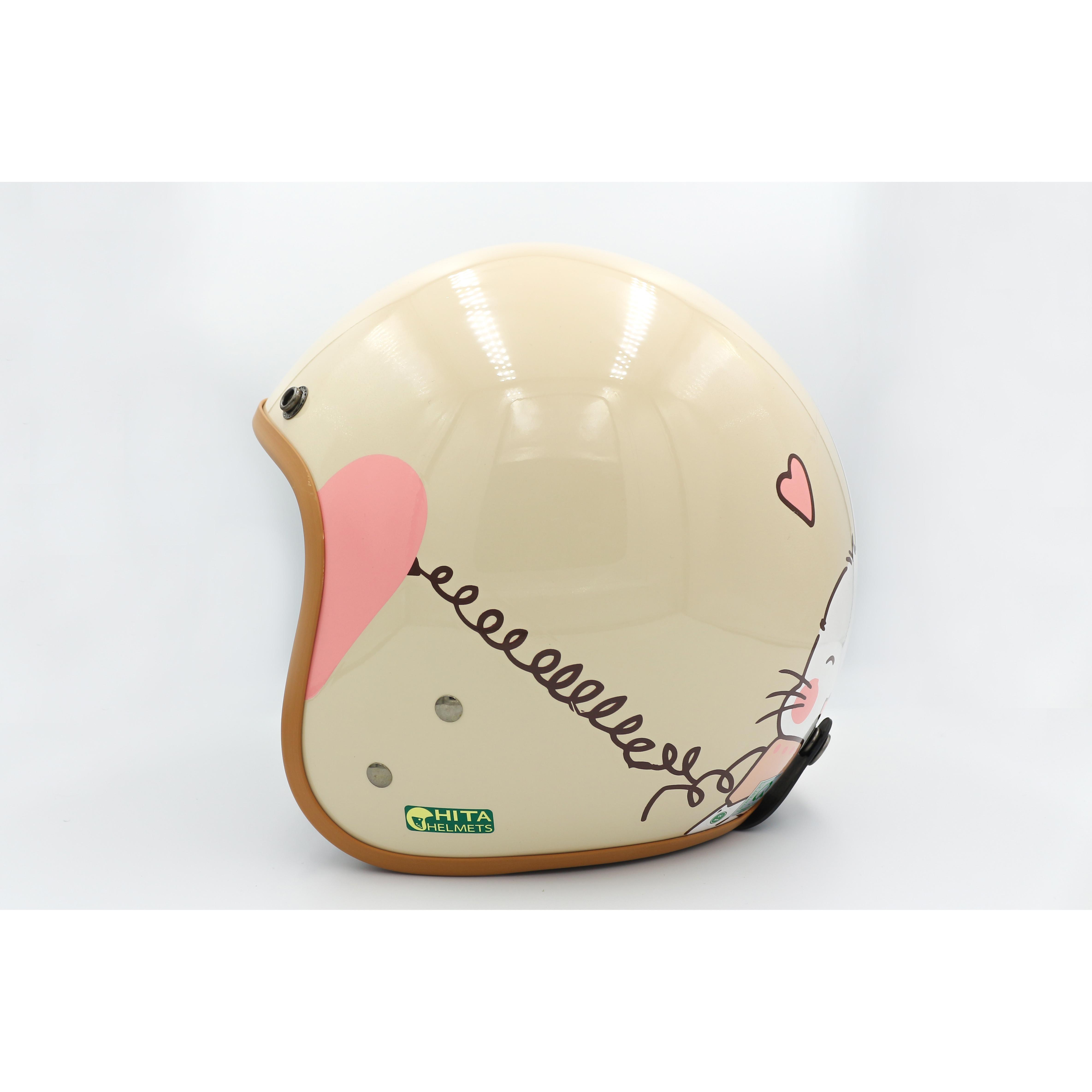 Mũ bảo hiểm Chita 3/4 - CT1 Nón cặp size M