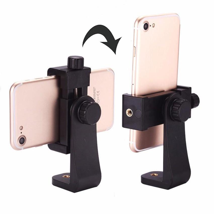 Khung kẹp đỡ điện thoại xoay 360 độ cho tripod