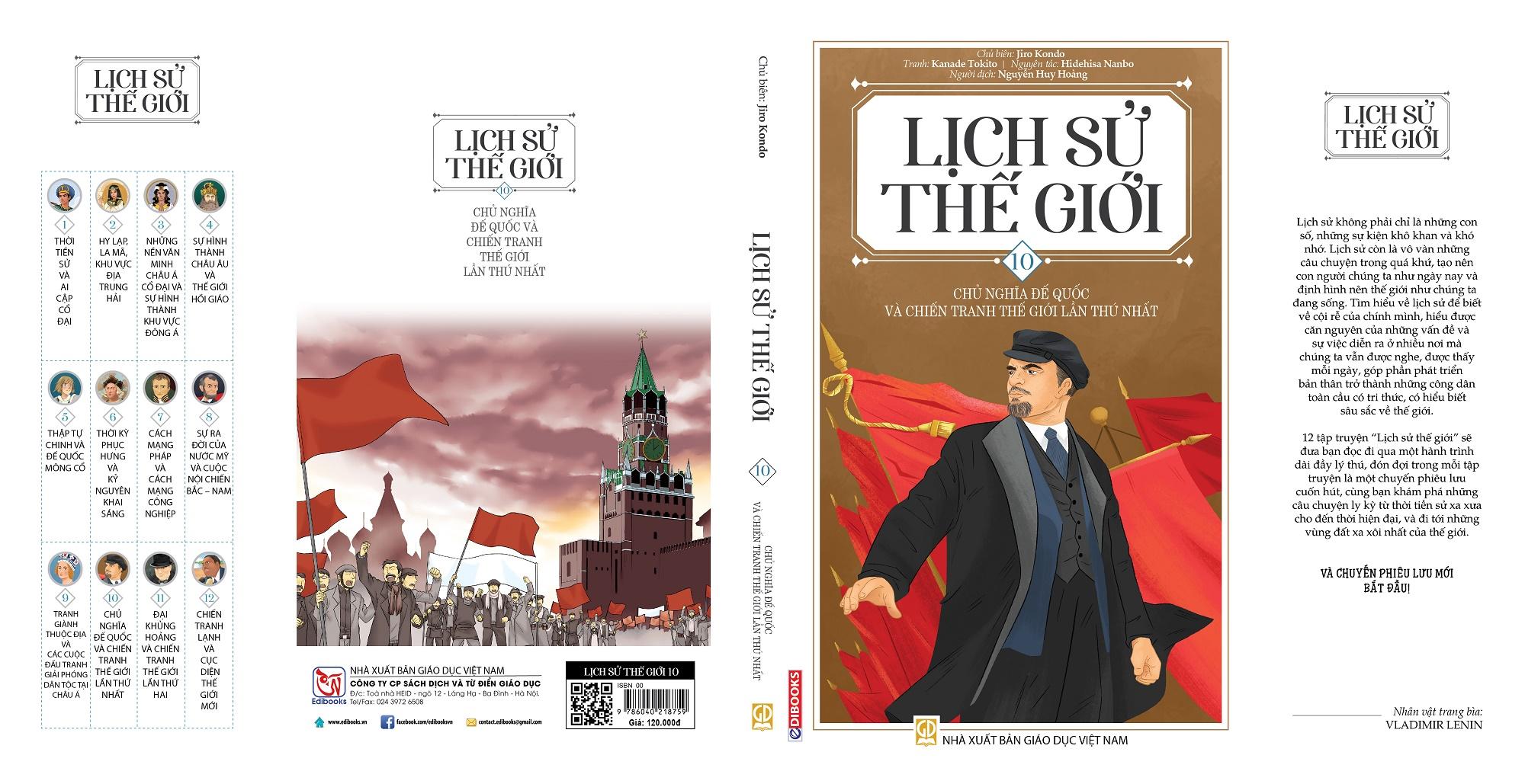 Lịch Sử Thế Giới - Tập 10: Chủ Nghĩa Đế Quốc và Chiến Tranh Thế Giới Lần Thứ Nhất