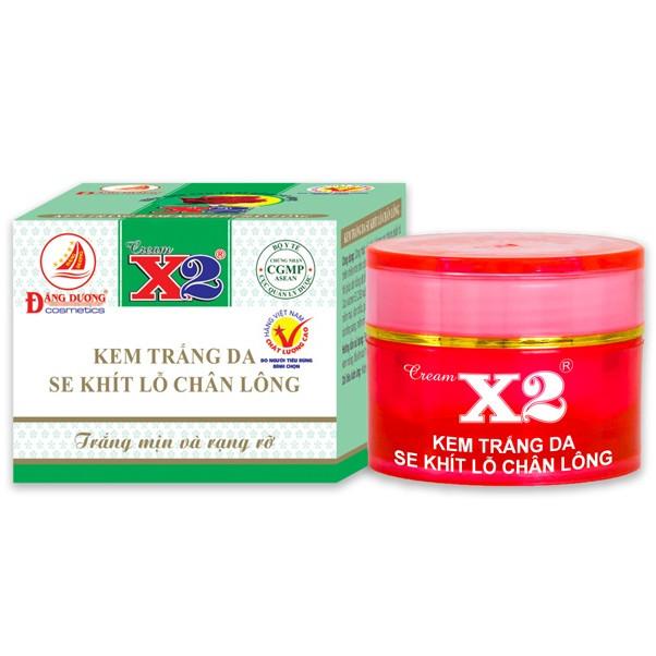Kem Trắng Da Se Khít Lỗ Chân Lông Cream X2 (8g)