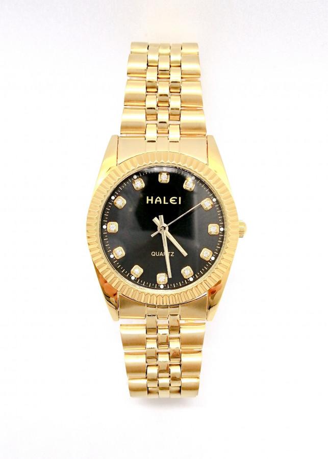 Đồng hồ Nam Halei - HL356 Dây vàng