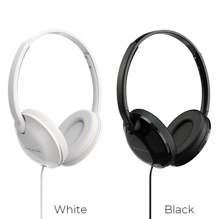 borofone bo1 enjoybass in line control wired headphones colors