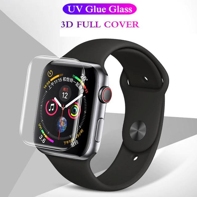 Dán màn hình cường lực UV cho Apple watch 44mm