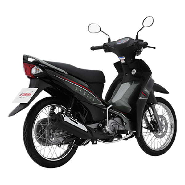 Xe Máy Yamaha Sirius Fi Phanh Đĩa - Đen