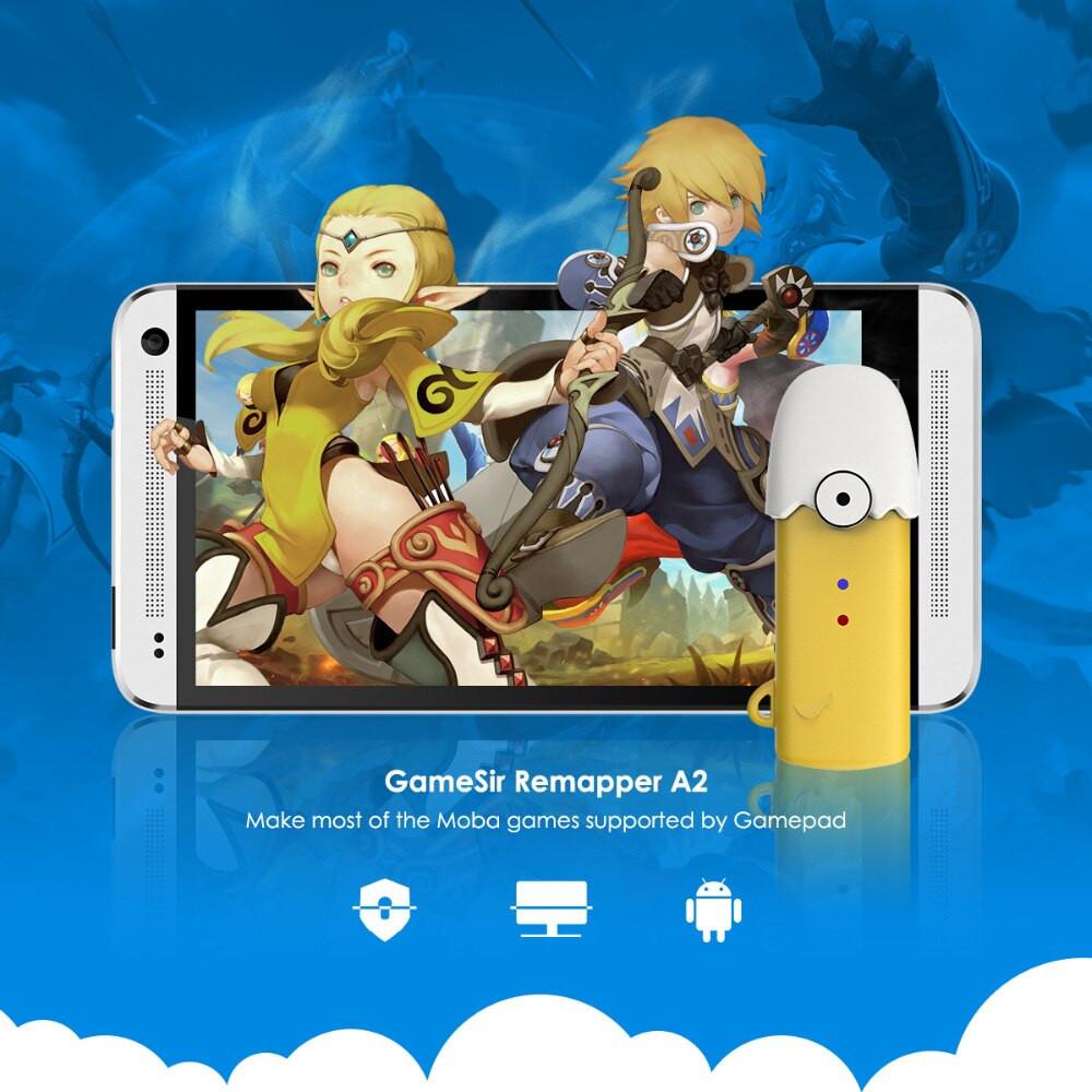 Phụ kiện map phím tay cầm cho Android không cần ROOT – Gamesir Remapper - Hàng Chính Hãng
