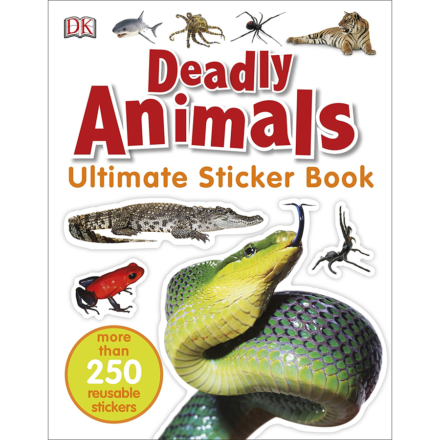 Ultimate Sticker Book Deadly Animals