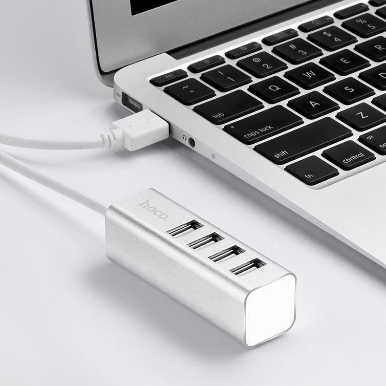 Hub USB 4 Port Hoco ( Hàng chính hãng )