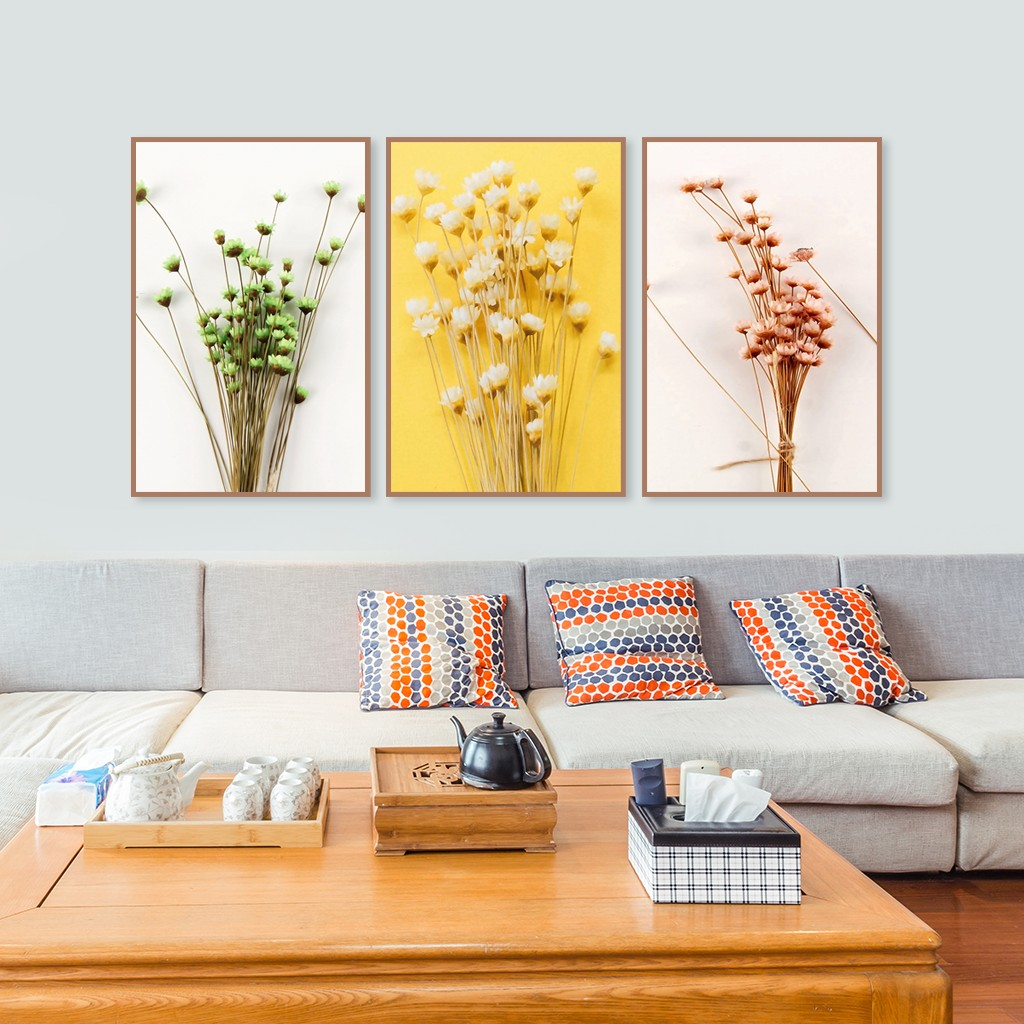 Tranh Hoa Canvas Treo Tường Trang Trí
