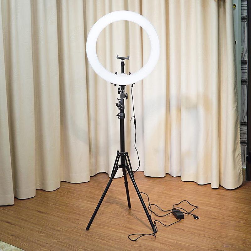 Bộ Đèn Livestream 26cm Cao Cấp - Siêu Đẹp, Siêu Bền, Siêu Sáng