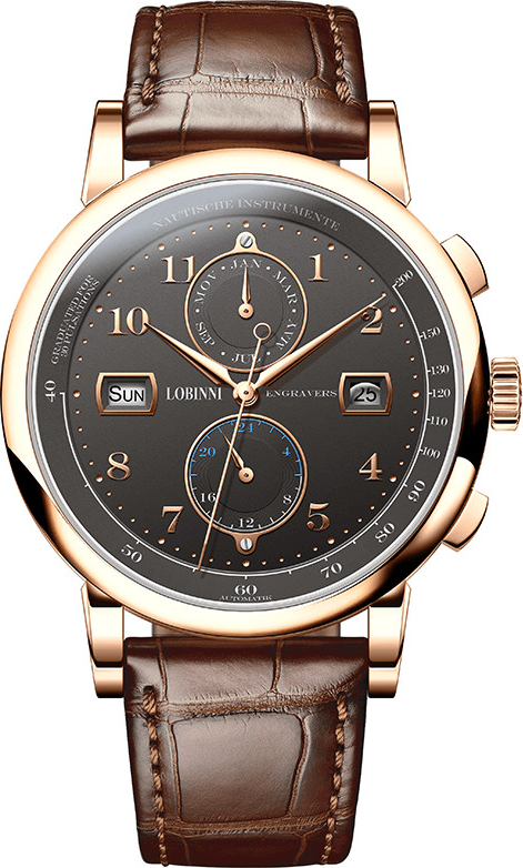 Đồng hồ nam chính hãng Lobinni No.16001-1