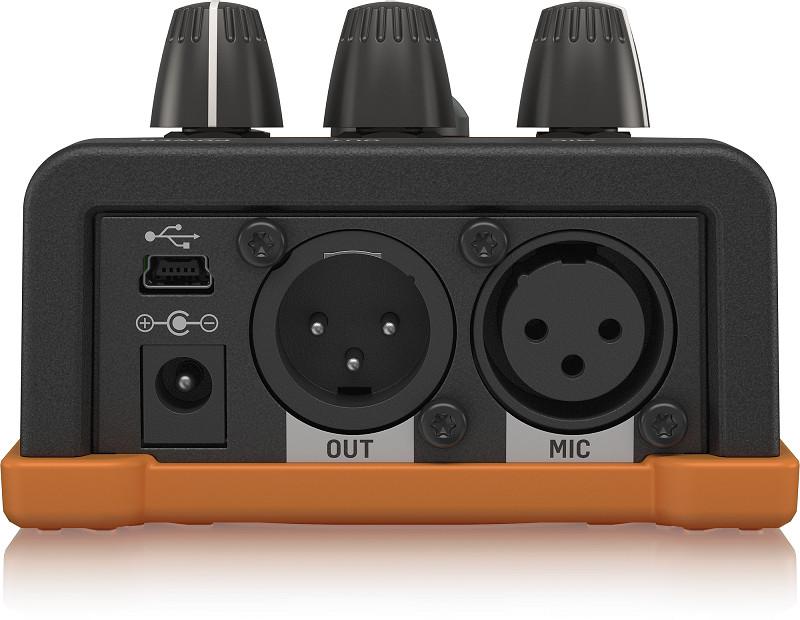 TC-Helicon VoiceTone E1 Echo & Tap Delay Vocal Pedal-Hàng Chính Hãng