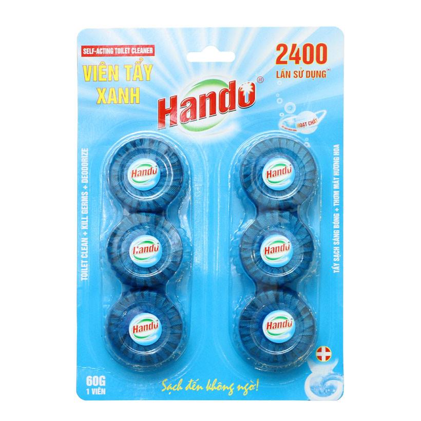 Vỉ 6 viên tẩy và làm thơm toilet Hando Lavender