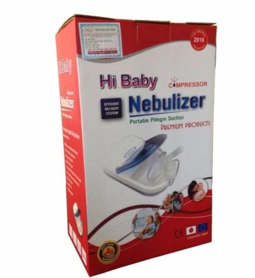Máy xông hút mũi họng 2 trong 1 Dotha HiBaby, tạo khí dung xông mũi họng , hút sạch đờm nhớt mũi trẻ em - Hàng Việt nam sản xuất tại Hải phòng  - Bảo hành 8 năm - [TBYT H-Care]