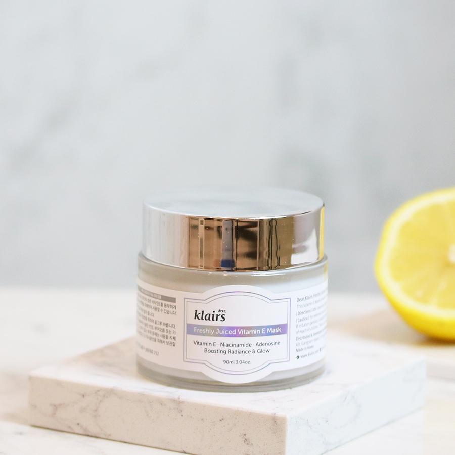 Mặt nạ ngủ dưỡng da Dear Klairs Freshly Juiced Vitamin E Mask 90ml