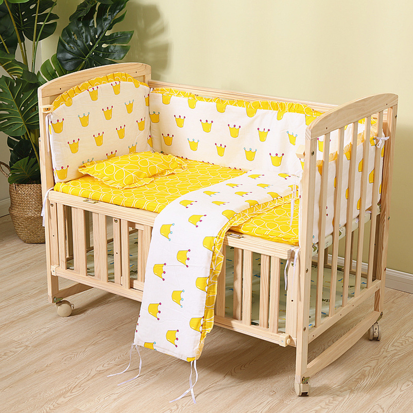 Full set giường cũi cho bé yêu
