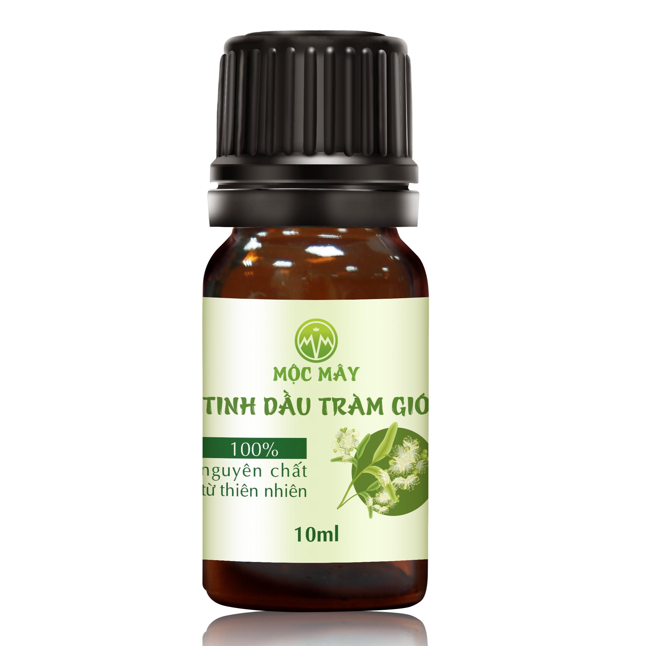 Tinh dầu Tràm Organic hữu cơ 10ml Mộc Mây - tinh dầu thiên nhiên nguyên chất 100% - dùng xông tắm ngừa cảm lạnh, trị côn trùng cắn đốt cho Bé, Trẻ sơ sinh và Trẻ nhỏ | An toàn cho làn da nhạy cảm của Bé