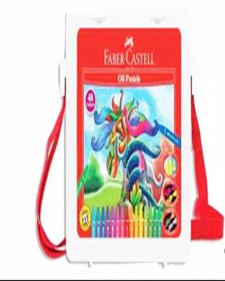 Faber-Castell-120090N-Bút Sáp Dầu - 48 Màu + Chuốt
