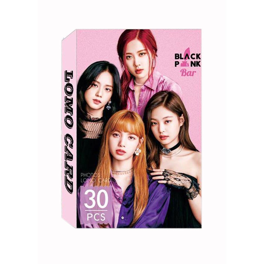 Bộ Ảnh Thẻ Blackpink Lomo Card Mới Nhất