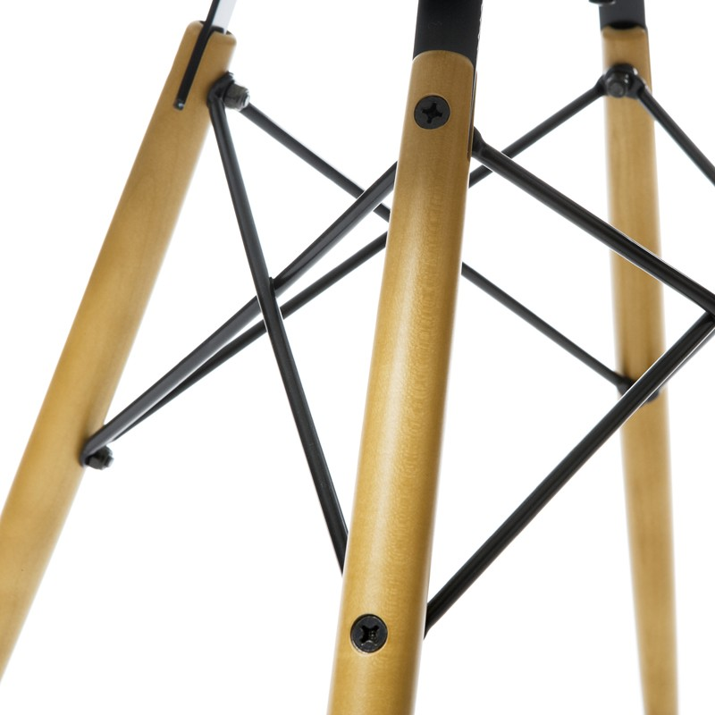 Set 4 ghế chân gỗ Kachi Eames mặt simili FP-235B6 E5