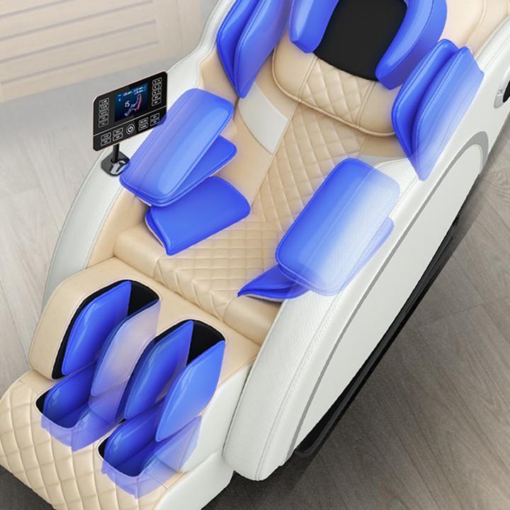 Ghế Massage Toàn Thân Màn Cảm Ứng Công Nghệ 4.0, Giảm Đau Nhức, Ngủ Ngon - Bảo Hành 5 Năm