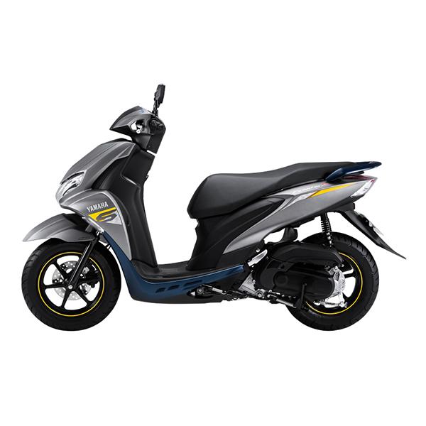 Xe máy Yamaha Freego S (Bản đặc biệt) - Xám Nhám -  Phanh ABS - Smartkey