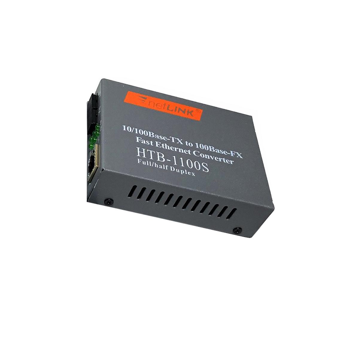 Bộ chuyển đổi quang điện 10/100M  (2 Sợi quang) Netlink HTB-1100S 25KM (2 thiết bị) - Hàng Nhập khẩu