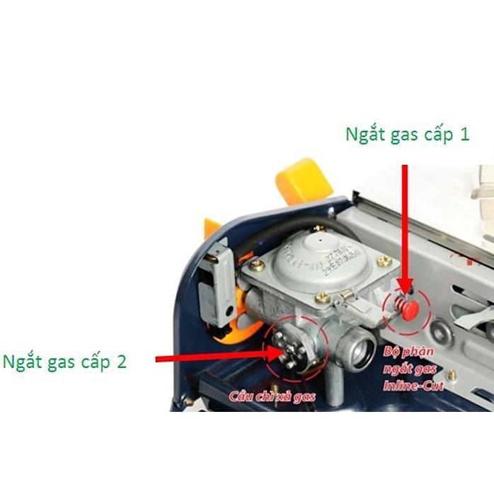 Bếp Gas Mini Cao Cấp Cyclone NaMilux PL 1926PS- Hàng Chính Hãng