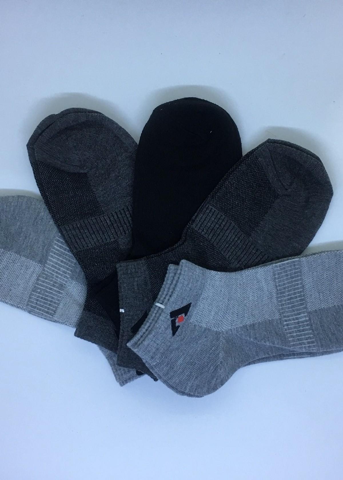 Hình ảnh Combo 10 đôi tất nam thấp cổ kháng khuẩn (Giao mầu ngẫu nhiên)
