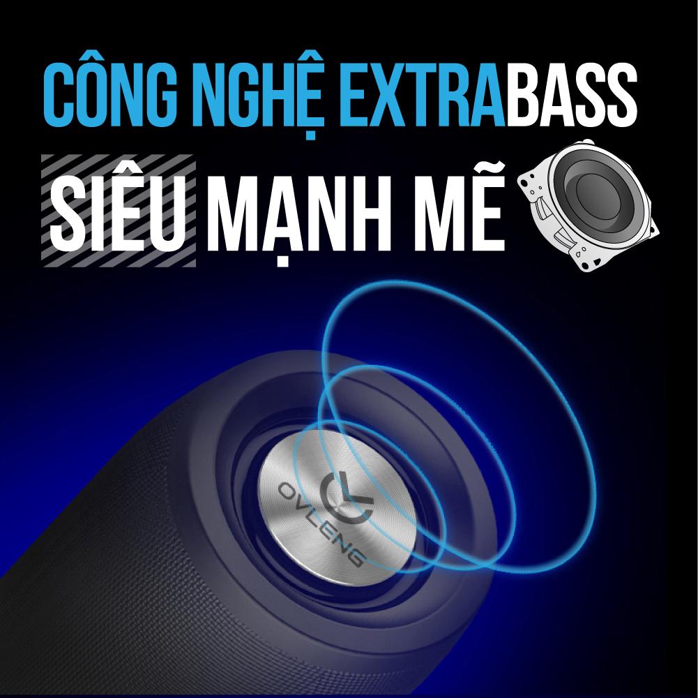 Loa Bluetooth 5.0 Extra Bass Ovleng Zealot S32 - Hàng Chính Hãng