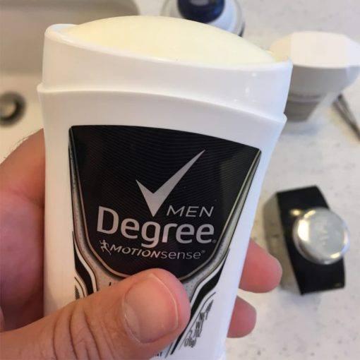 Lăn khử mùi nam Degree Men Motionsense Ultra Clear Black White 76g