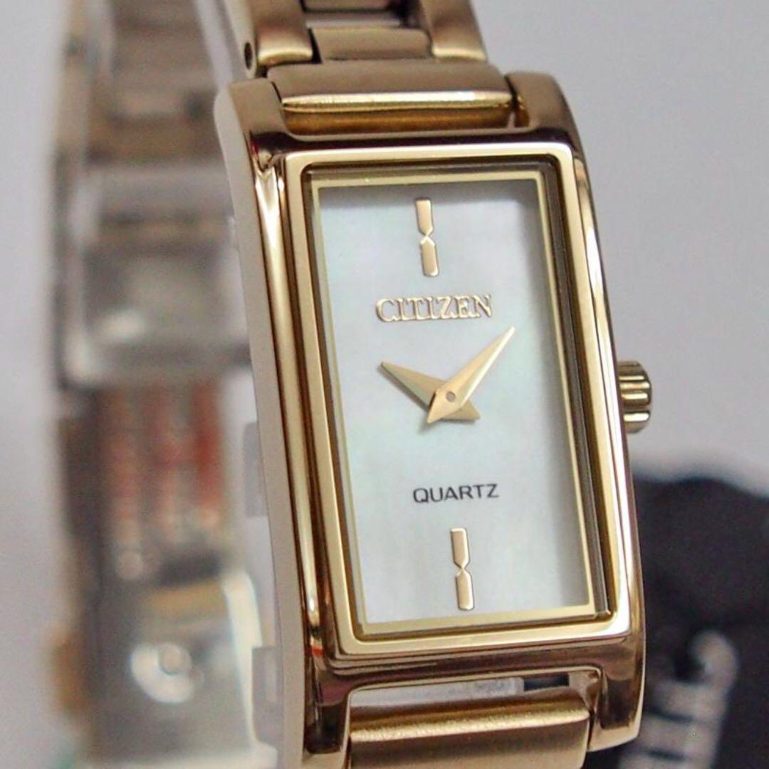 Đồng Hồ Citizen EZ6368-82D Nữ Dây Kim Loại PVD Màu Vàng ( pin )